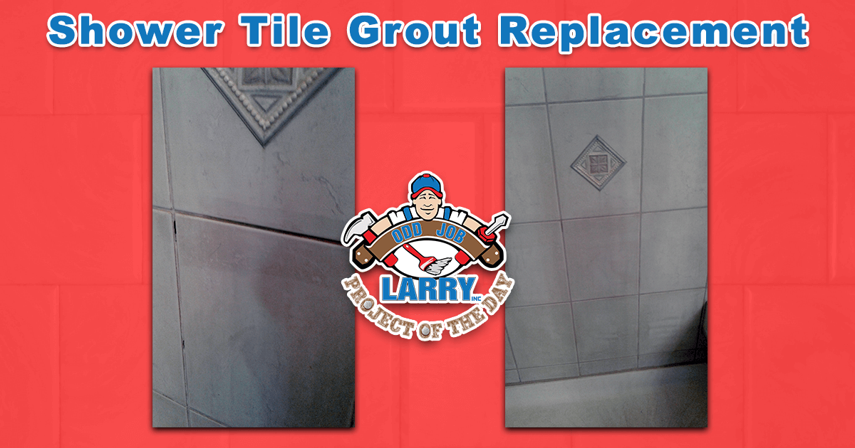 Shower Tile Grout Replacement