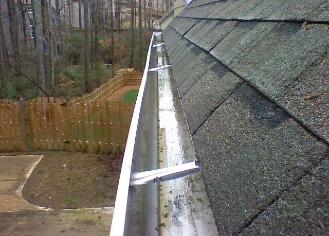 After gutter cleaning by Odd Job Larry