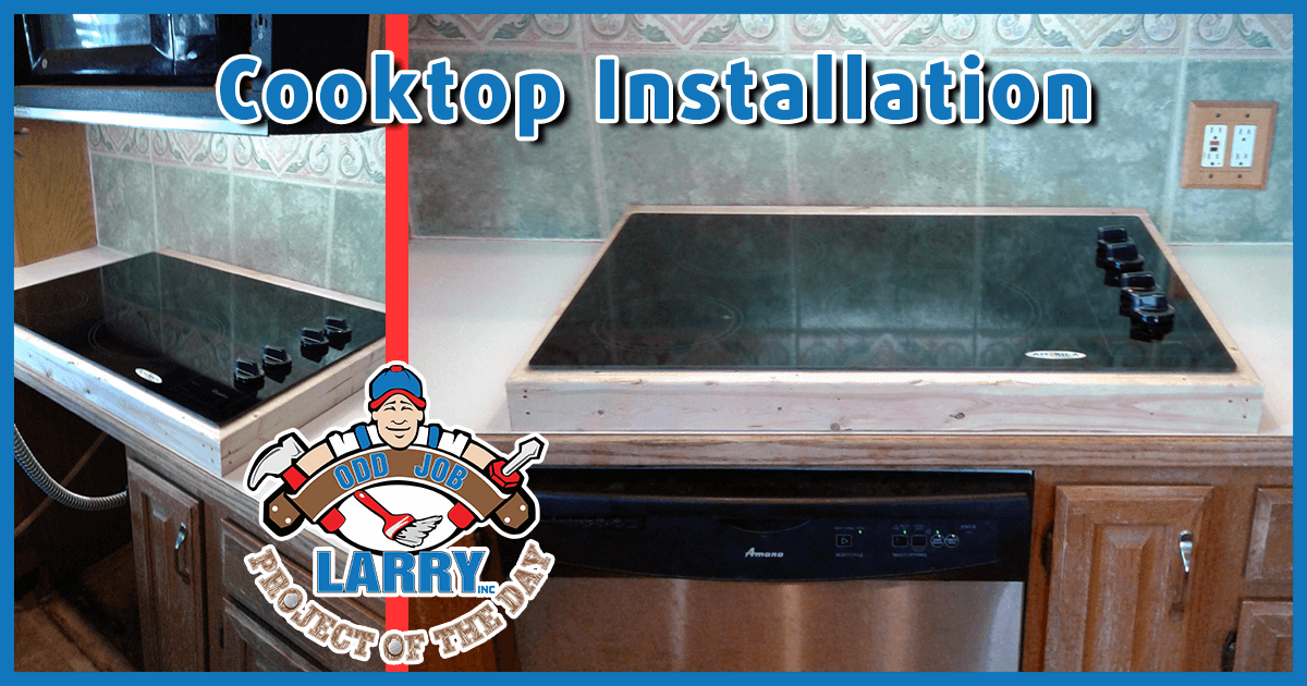 Counter Modification for Cook-Top Installation