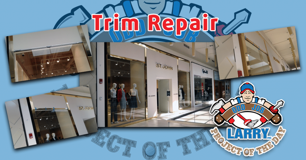 Retail Window Trim Repair