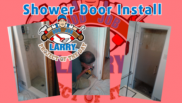 handyman shower door installation