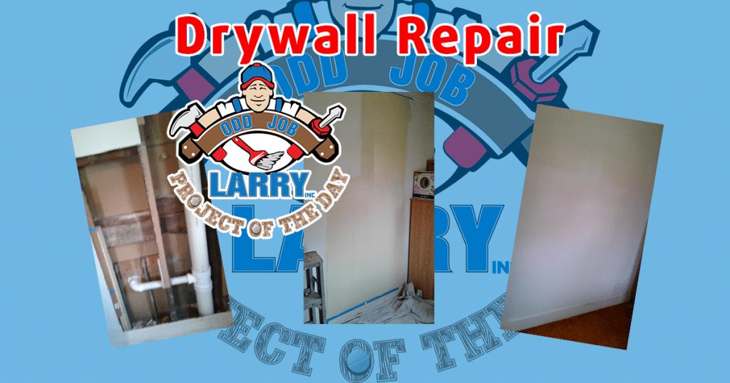 Post-Plumbing Work: Drywall Repair
