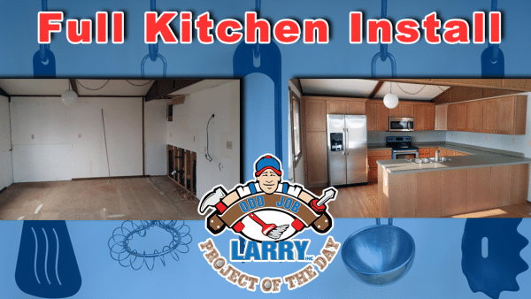 handyman renovation kitchen installation