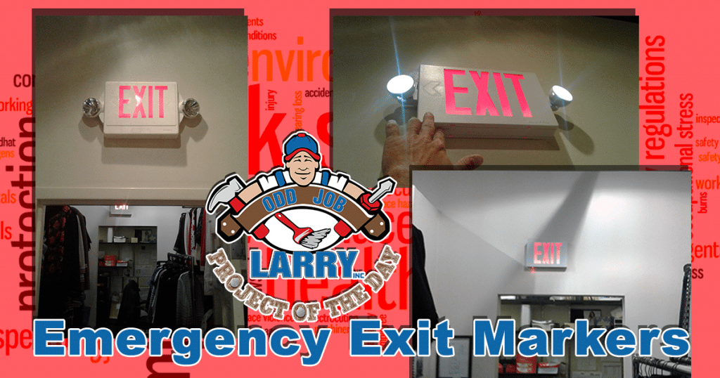 Emergency Exit Sign Installation