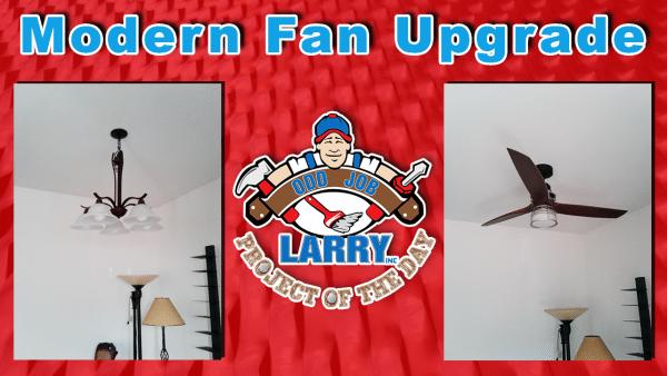 handyman modern style fan installation