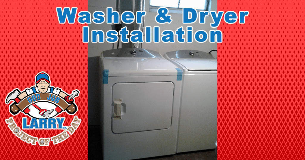 Washer & Dryer Installation