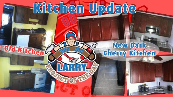 odd job larry dark cherry cabinets kitchen remodeling
