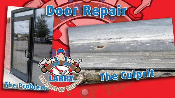 odd job larry threshold screw removal