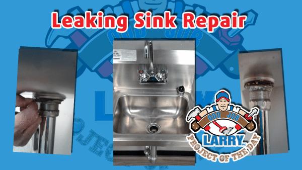 odd job larry handyman sink drain repair
