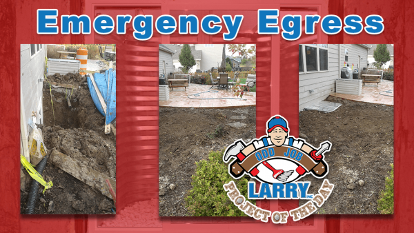 handyman emergency exit egress window installation