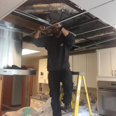 ceiling tiles, replacement, renovate, fix, ceiling, tiles, handyman