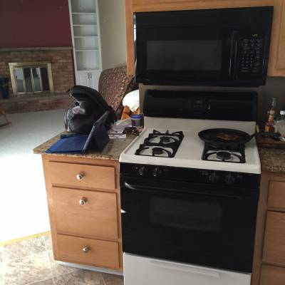 kitchen, remodel, revamp, fix, project, oven, stove, new