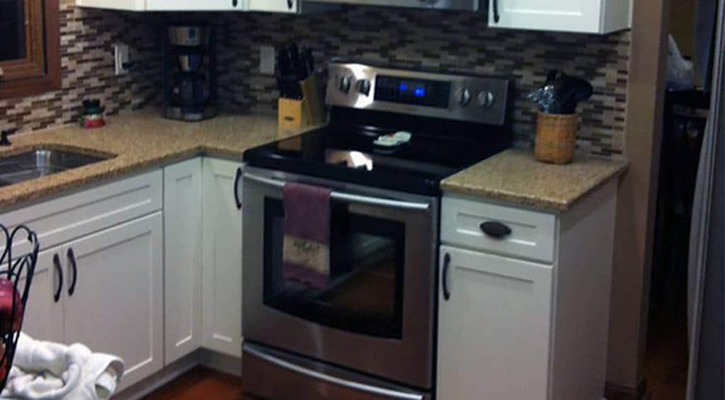 Cabinet and Back-splash Kitchen Remodel
