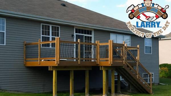 handyman project building new deck