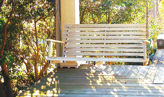 How to Install a Front Porch Swing