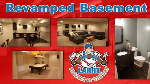 handyman basement remodel and renovation