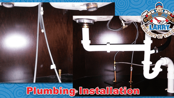 handyman sink & dishwasher plumbing installation in round lake beach
