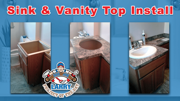 handyman sink & vanity installation in lake forest